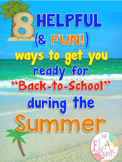 You can be beach-bound AND getting ready for a new school year at the same time. My favorite tip is #2!