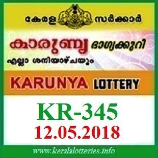 KARUNYA KR-345 LOTTERY RESULT