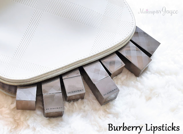Burberry Kisses Lipstick Haul Collection Review Swatches