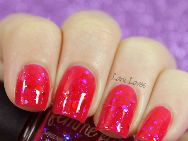 Femme Fatale Friday: Mana Ruby Nail Polish Swatches & Review