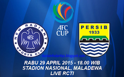 New Radiant vs Persib