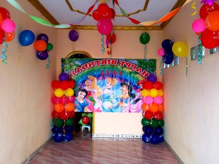 ide dekorasi ulang tahun sederhana
