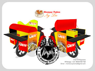 gerobak motor siomay ny liem