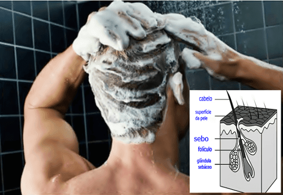 Lavar-os-cabelos