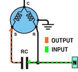 Wiring Diagram Pemasangan Kapasitor