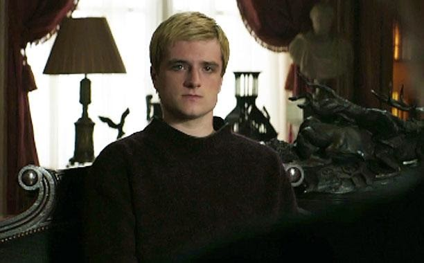 Official Watch Peeta President Snow In New The Hunger