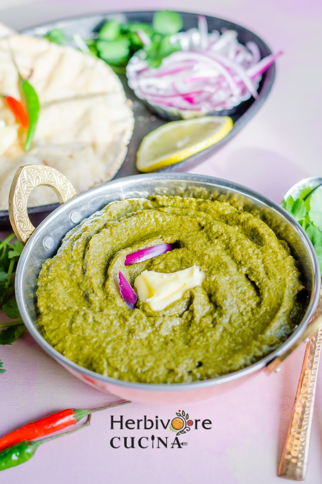 Herbivore cucina three step slow cooker sarson da saag last year i got my slow cooker initially i was not confident about using it over the last couple of months i made a ton of food in it and now i forumfinder Choice Image