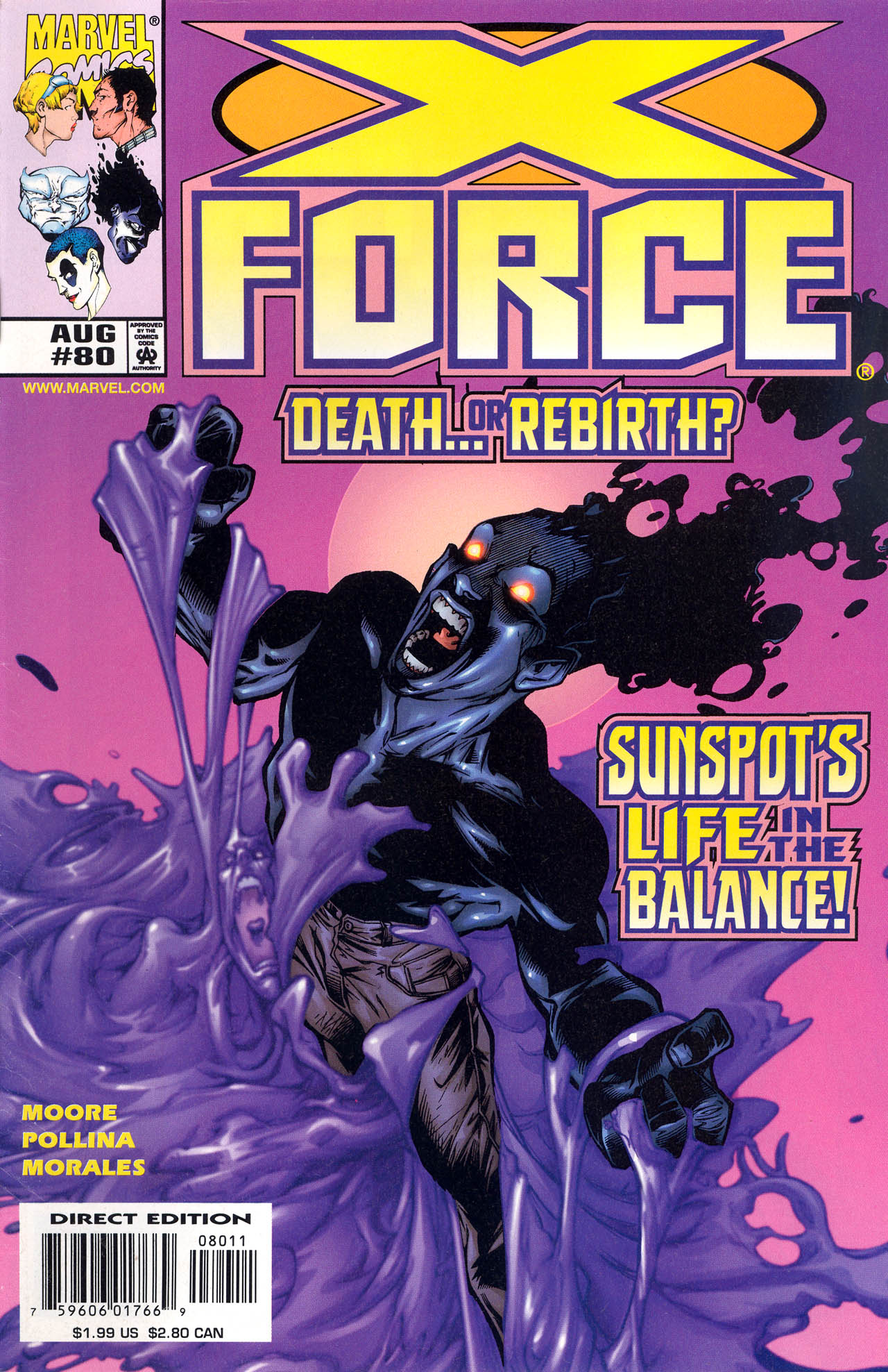 Read online X-Force (1991) comic -  Issue #80 - 1