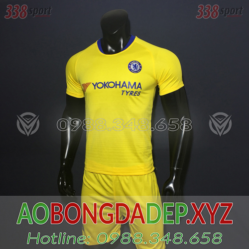 Áo Chelsea 2019 Sân Khách 1 Màu Vàng Đẹp