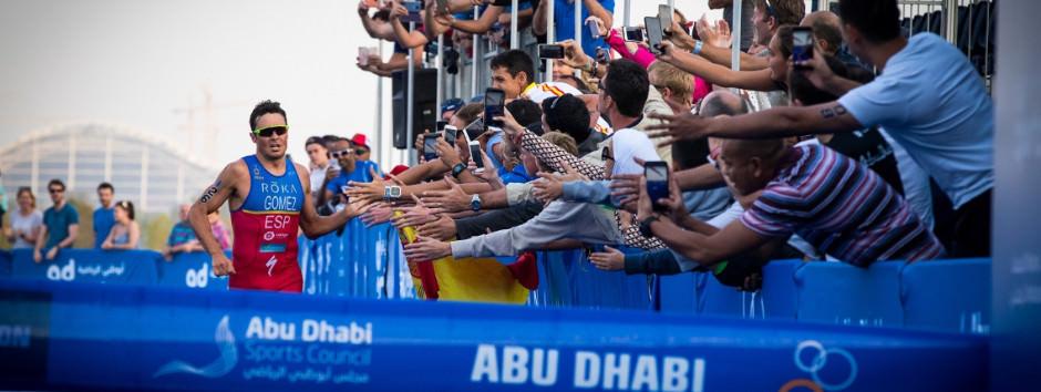 Gómez Noya logra la victoria en Abu Dhabi