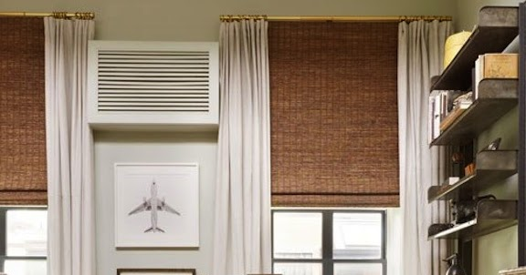 A Perfect Gray Nate Berkus And Bamboo Blinds