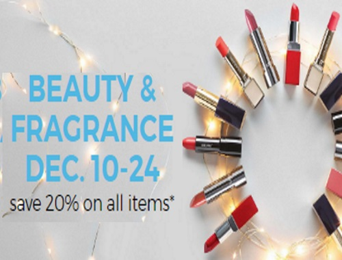 Sears 20% Off Beauty & Fragrances