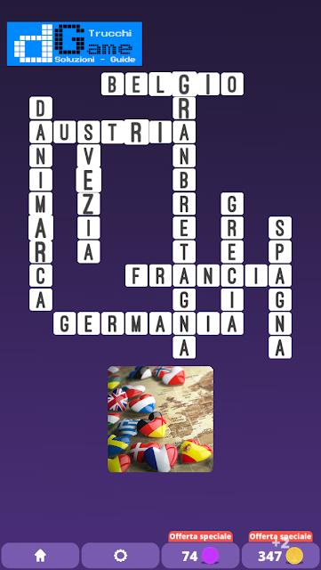 Soluzioni One Clue Crossword livello 20 schemi 2 (Cruciverba illustrato)  | Parole e foto