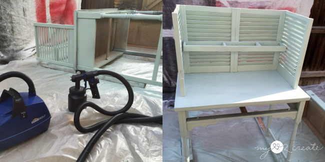priming potting bench