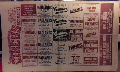 Band lineup for December 1980/81??