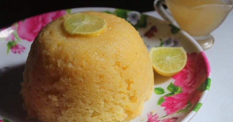 YUMMY TUMMY: Steamed Lemon Pudding with Lemon Sauce
