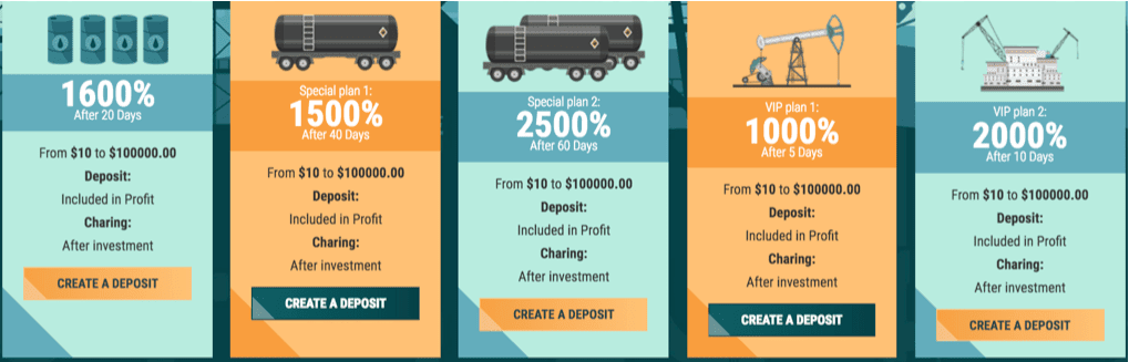 Инвестиционные планы Oil invest LTD 2