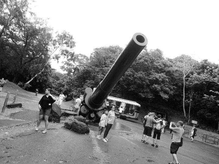 Battery Hearn at Corregidor Island