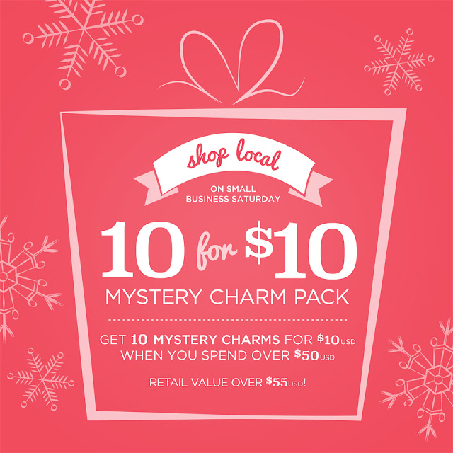 Origami Owl Small Business Saturday at StoriedCharms.com