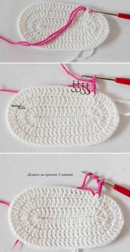 Cómo tejer sandalias crochet para bebé | Paso a Paso