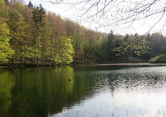 Górne Jeziorko Duszatyńskie.