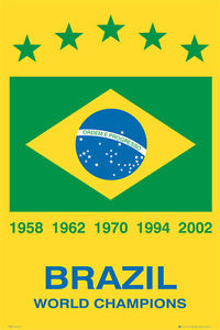 Brazil-has won 5 Title-FIFA