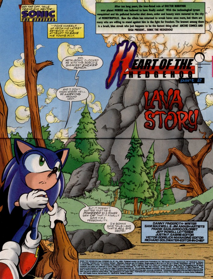 Read online Sonic The Hedgehog comic -  Issue #87 - 3