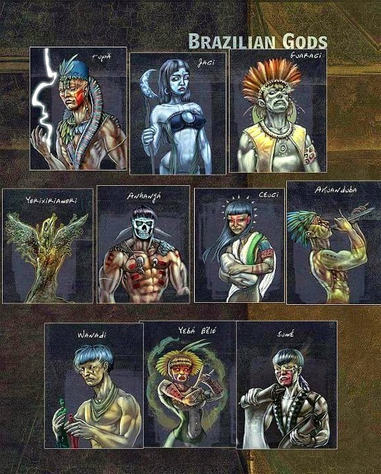 Os deuses brasileiros