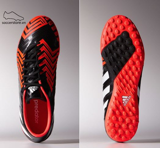 Adidas Predator Absolado Instinct TF Core black- White- Solar Red B24165 (9)