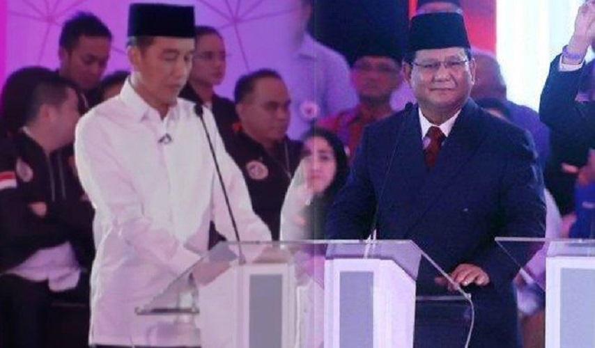 Jokowi vs Prabowo debat capres