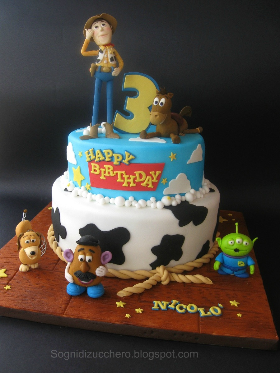 Sogni Di Zucchero Toy Story Cake