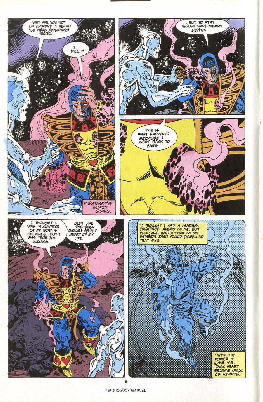 Read online Silver Surfer (1987) comic -  Issue #76 - 10