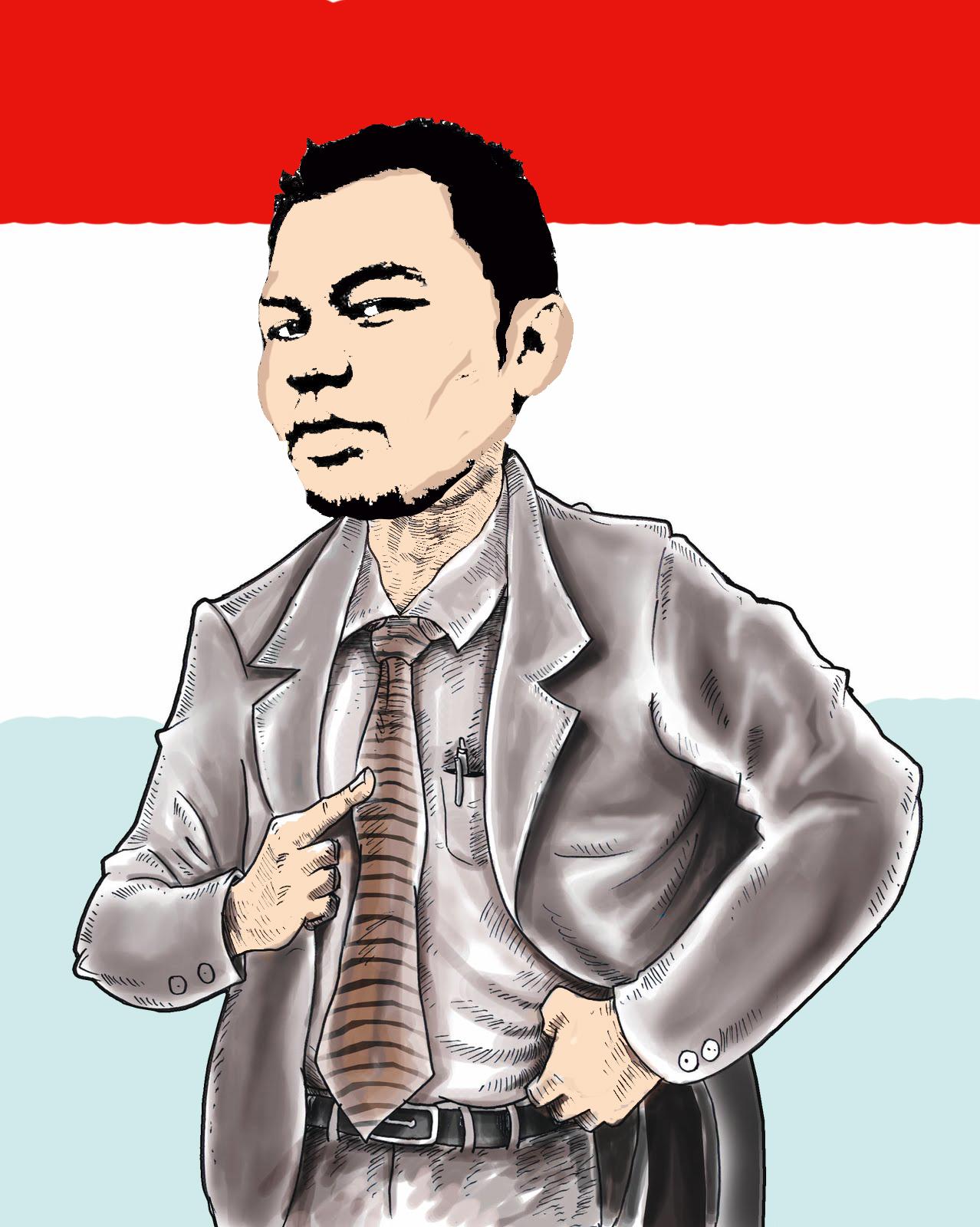 Gambar Karikatur Pahlawan Revolusi