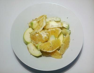 Яблоки, апельсины и тимьян