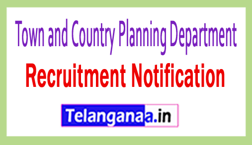 Town and Country Planning Department TCPD Recruitment