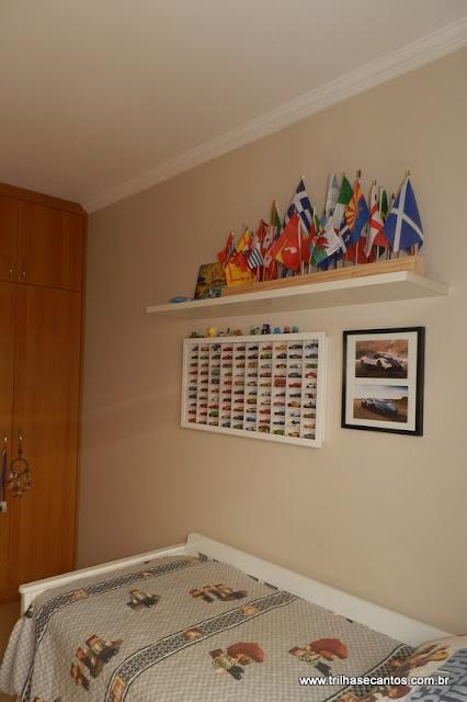 coleção de bandeirinhas