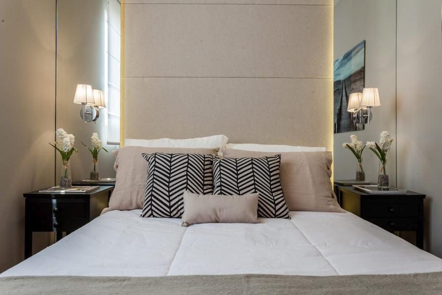 wystrój wnętrz, wnętrza, urządzanie mieszkania, dom, home decor, dekoracje, aranżacje, małe mieszkanie, small apartments, styl nowoczesny, modern style, styl skandynawski, sypialnia, bedroom