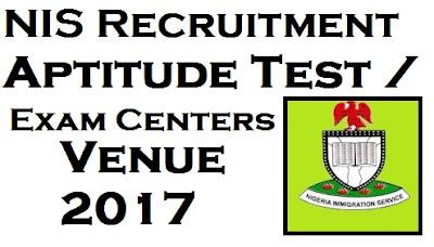 NIS Recruitment Aptitude Test / Exam Centers & Venue 2017 (List of 36 States)