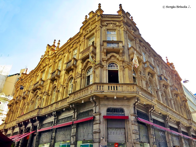 Fachada e lateral do Palacete Tereza Toledo Lara - Centro - São Paulo