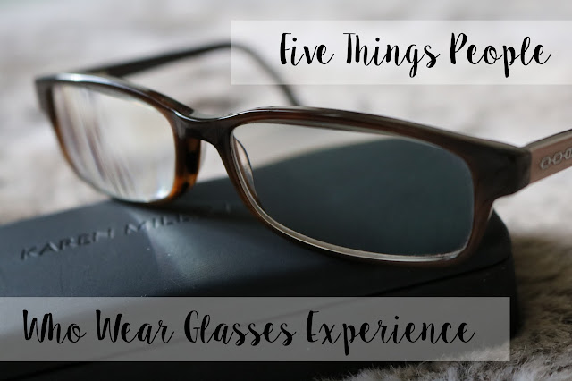 people who wear glasses experience