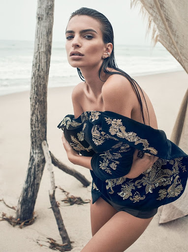 hot model Emily Ratajkowski sexy photo shoot for C magazine