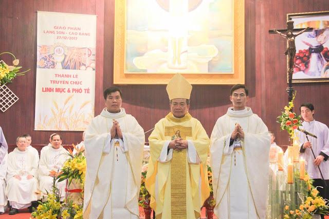 Lễ truyền chức Phó tế và Linh mục tại Giáo phận Lạng Sơn Cao Bằng 27.12.2017 - Ảnh minh hoạ 160