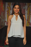Tanya Hope in a whtie shirt and leggings at Song launch of Movie Patel Sir ~  Exclusive Celebrities Galleries 016.JPG