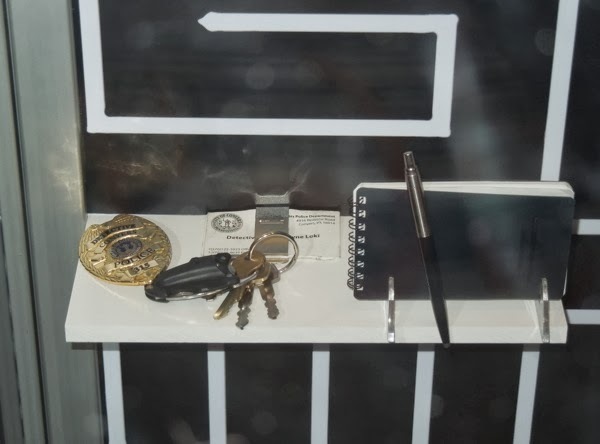 Detective Loki Prisoners movie props