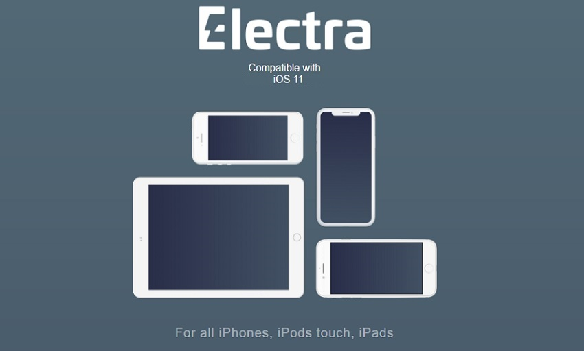 CoolStar Electra iOS 11 Jailbreak for iPhone, iPad, and iPod touch