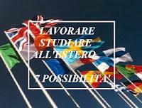 lavoro e studio all'estero, iniziative e possibilità
