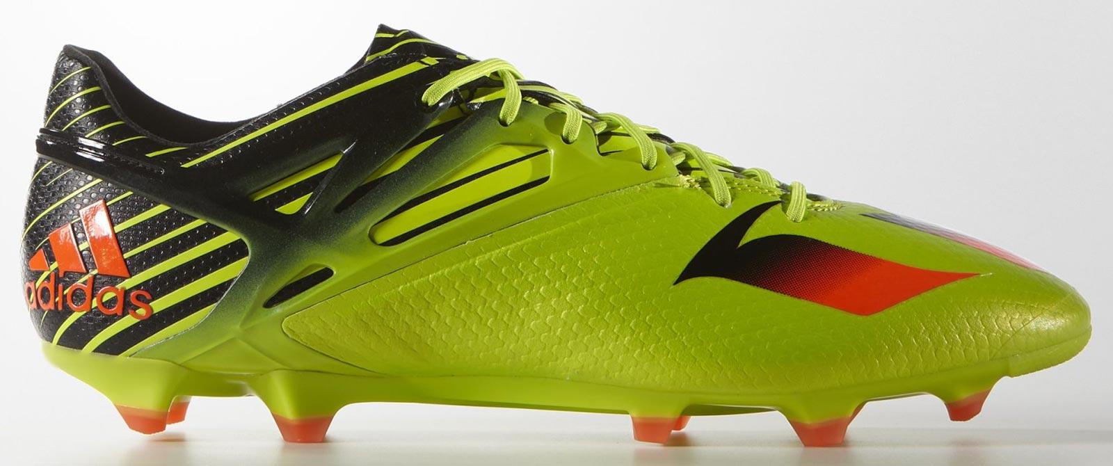 Adidas Messi 15.1 - Semi Solar Slime / Solar Red / Black
