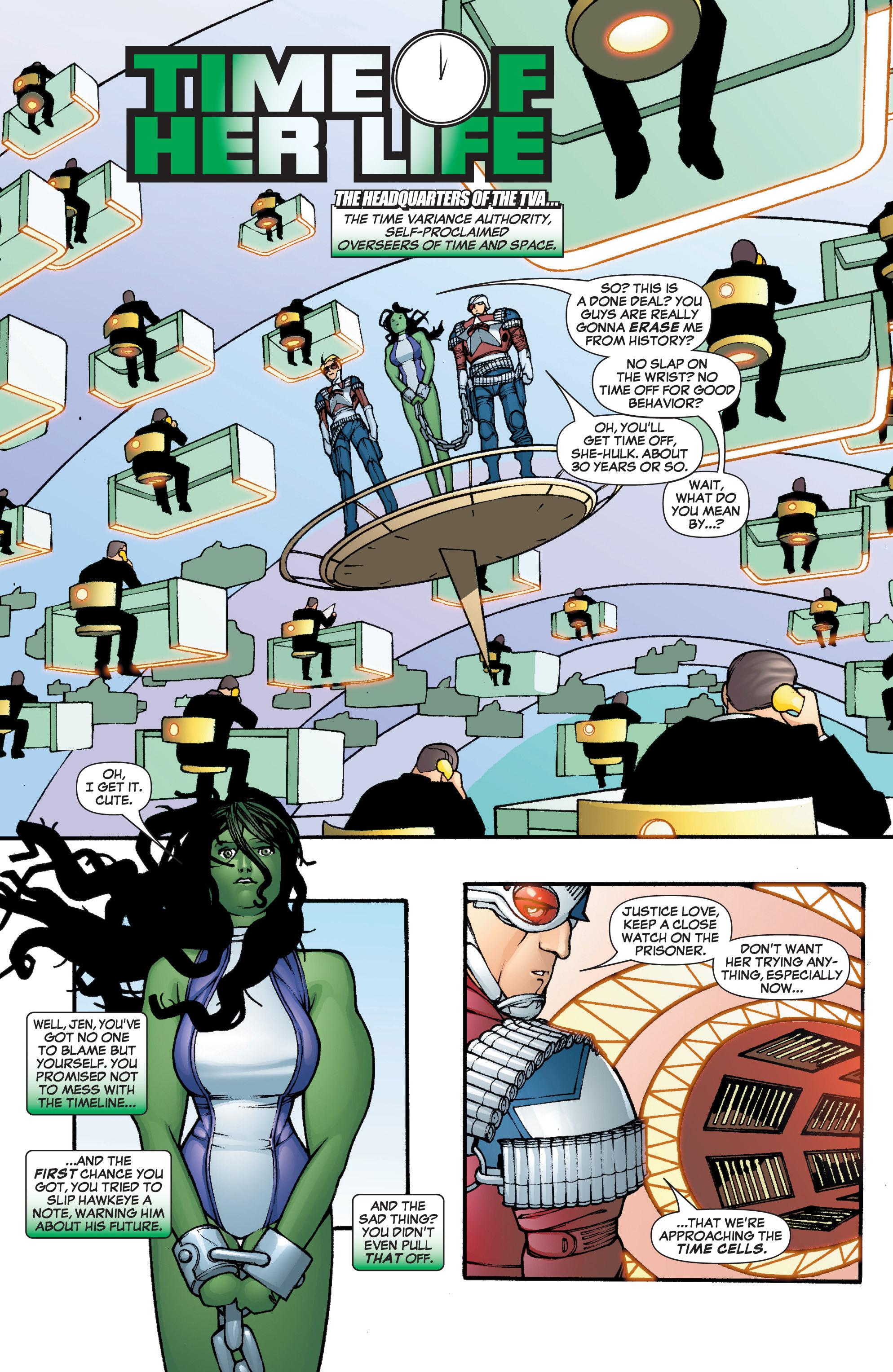 Read online She-Hulk (2005) comic -  Issue #3 - 3