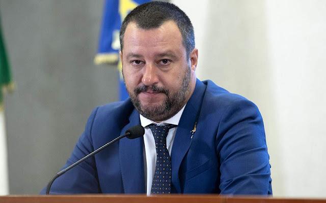 Σαλβίνι: «Σε κατάσταση ύψιστης επιφυλακής όλη η Ιταλία λόγω των ισλαμιστών εξτρεμιστών»
