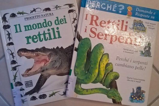 libri per bambini sui serpenti